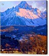 Mount Sneffels  Acrylic Print