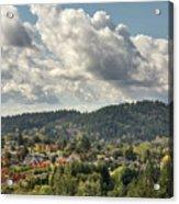 Mount Talbert In Happy Valley Oregon Acrylic Print