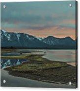 Mount Tallac At Sunset Acrylic Print