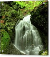 Mount Toby Roaring Falls Acrylic Print