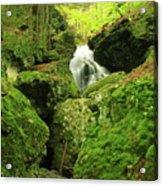 Mount Toby Roaring Falls Ravine Acrylic Print