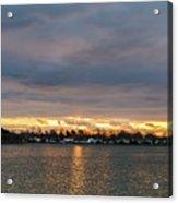 Mount Trashmore Sunrise 2 Acrylic Print