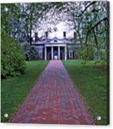 Mount Vernon 8x8 Acrylic Print