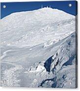 Mount Washington - White Mountain New Hampshire USA Winter Acrylic Print