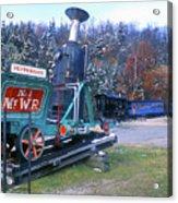 Mount Washington Cog Railway Acrylic Print