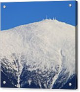 Mount Washington Summit And Weather Observatory Acrylic Print