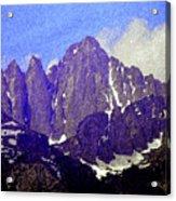 Mount Whitney Acrylic Print