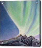 Mountain Aurora Acrylic Print