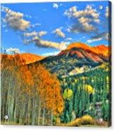 Mountain Beauty Of Fall Acrylic Print