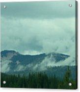 Mountain Clouds Acrylic Print