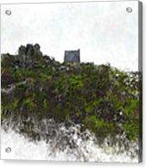 Mountain Cottage In Fynbos Acrylic Print