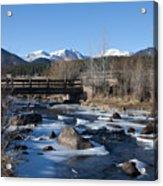 Mountain Creek In October Acrylic Print