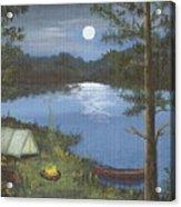 Mountain Fish Camp Acrylic Print