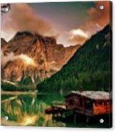 Mountain Getaway Acrylic Print