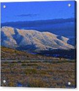 Mountain Glow Acrylic Print