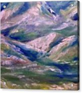 Mountain Gorge Italian Alps Acrylic Print
