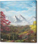 Mountain High Acrylic Print