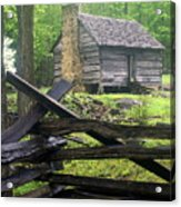 Mountain Homestead Acrylic Print