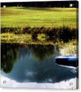 Mountain Kayak Acrylic Print