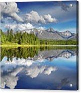Mountain Lake With Reflection Acrylic Print