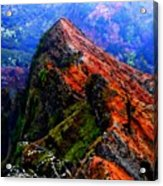 Mountain Landscape 27  Acrylic Print