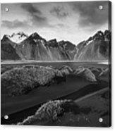 Icelandic Mountain  Landscape Acrylic Print