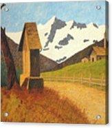 Mountain Landscape Acrylic Print