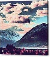 Mountain  Landscape Vista Acrylic Print