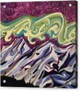 Mountain Lights Acrylic Print