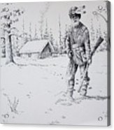 Mountain Man Acrylic Print