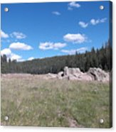 Mountain Meadow Above Cuba,nm Acrylic Print