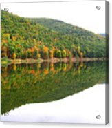 Mountain Mirror Acrylic Print