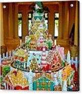Mountain Of Christmas Cheer Acrylic Print