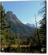 Mountain Opening Acrylic Print