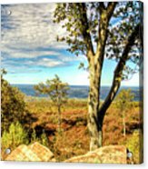 Mountain Overlook At High Point New Jersey Acrylic Print