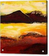 Mountain Pass 1 Acrylic Print