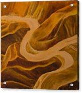 Mountain Pass Acrylic Print