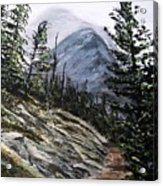 Mountain Pathway Acrylic Print