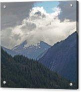 Mountain Peaks Acrylic Print