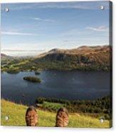 Mountain Relaxation Acrylic Print