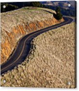 Mountain Road Acrylic Print by Garry Gay