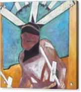 Mountain Spirit Dancer Acrylic Print