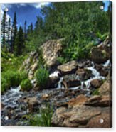 Mountain Stream 3 Acrylic Print