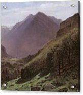 Mountain Study Acrylic Print