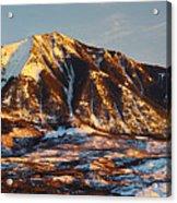 Mountain Sunsets Acrylic Print