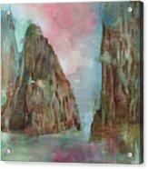 Mountain Temple Acrylic Print