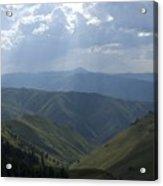Mountain Top 1 Acrylic Print