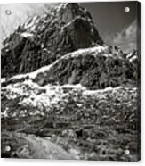Mountain Track Acrylic Print