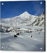 Mountain Tracks Acrylic Print