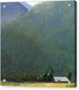 Mountain Valley Farm Acrylic Print